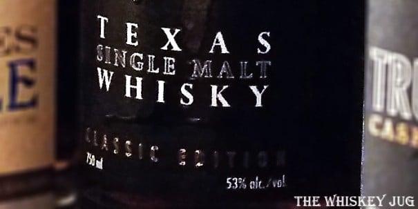 Balcones Texas Single Malt Label