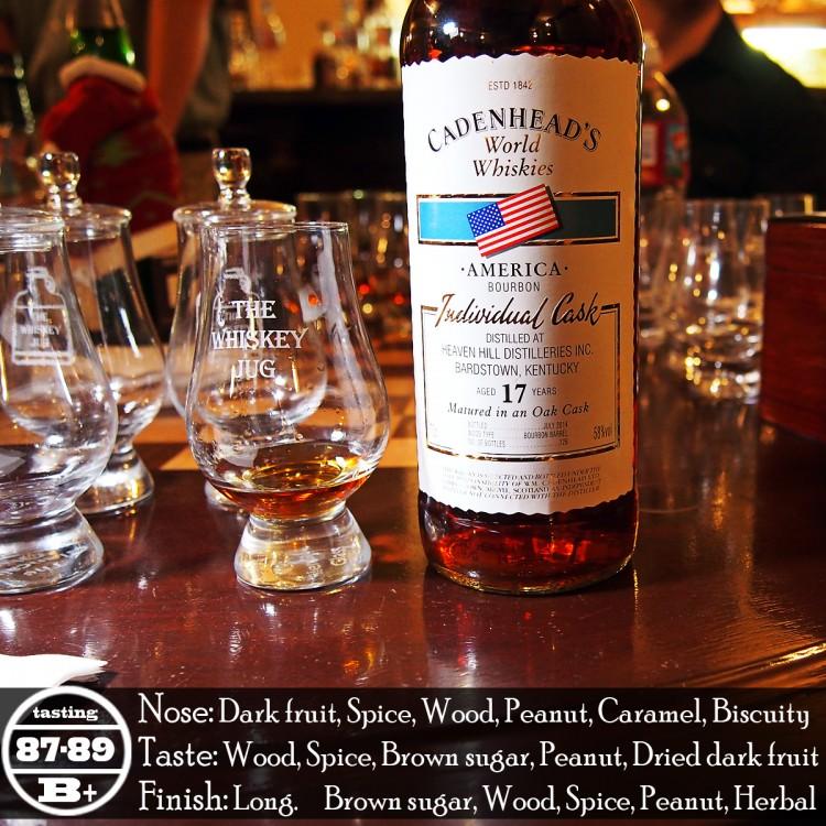 Cadenhead's Heaven Hill Bourbon 17 Years Review