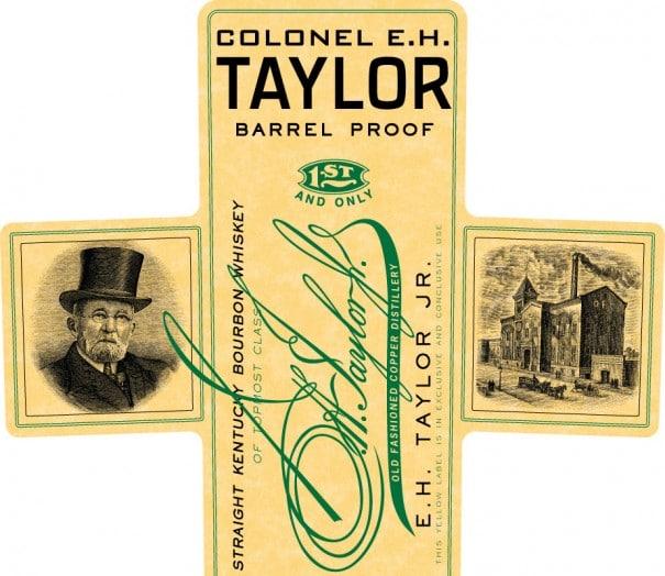 Colonel EH Taylor Jr Barrel Proof Label
