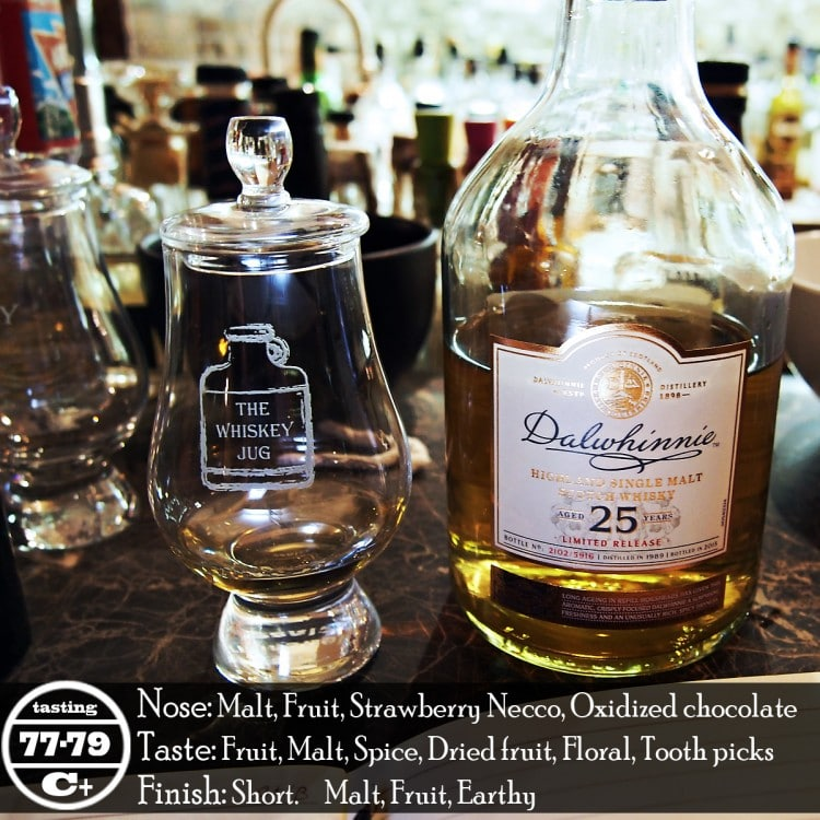 Dalwhinnie 25 Years Review