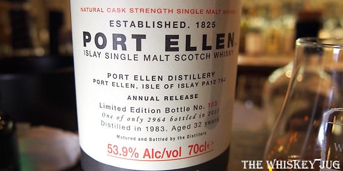 Port Ellen 32 Years Label