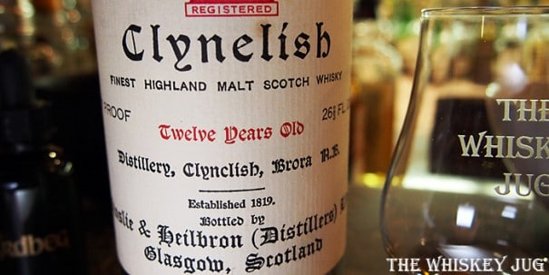 1970s Clynelish 12 Years Ainslie & Heilbron Label