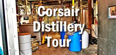 Corsair Distillery Tour
