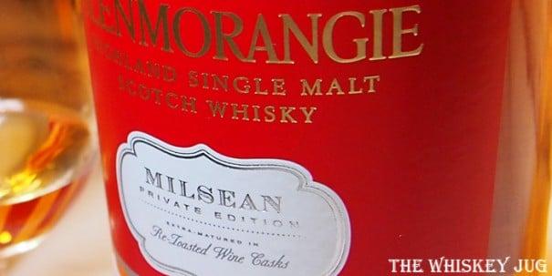 Glenmorangie Milsean Label
