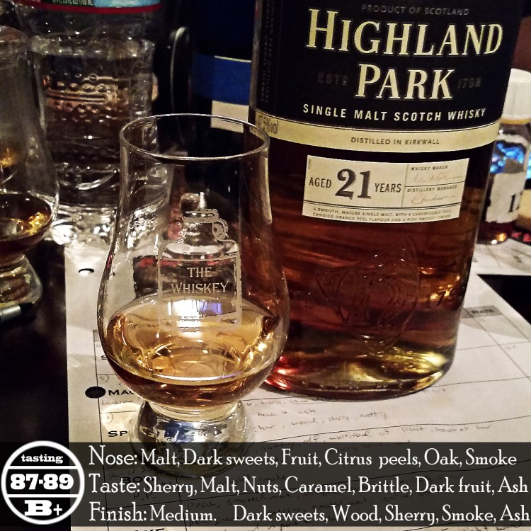 Highland Park 21 Years Review