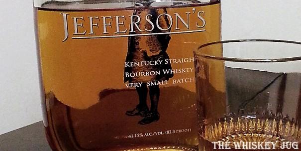 Jefferson's Very Small Batch Label