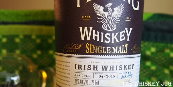 Teeling Irish Single Malt Label
