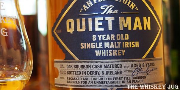 The Quiet Man Irish Single Malt Label