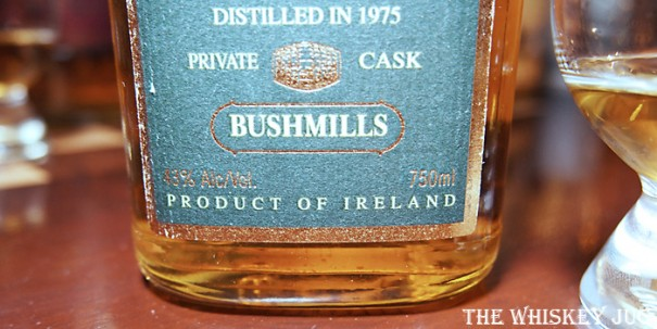 Bushmills Millennium Malt Label