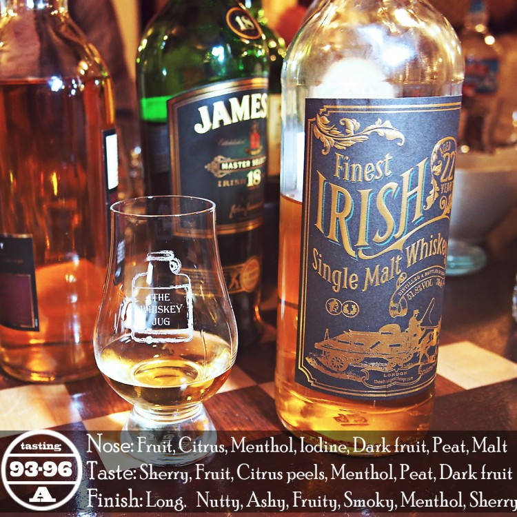 Finest Irish Single Malt 22 Years Review