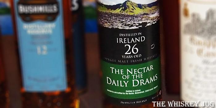 Nectar Of The Daily Drams 26 Years Irish Single Malt Label