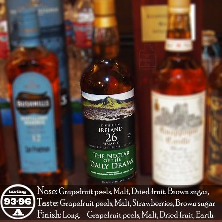 Nectar Of The Daily Drams 26 Years Irish Single Malt Review