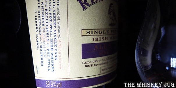 Redbreast All Sherry Single Cask Label