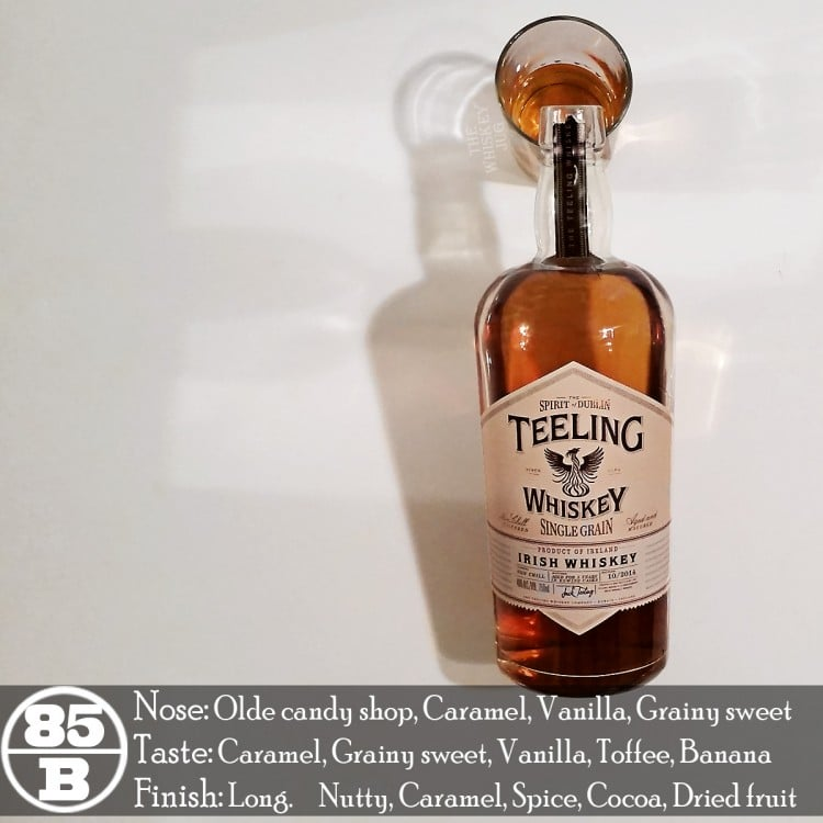 Teeling Single Grain Irish Whiskey Review