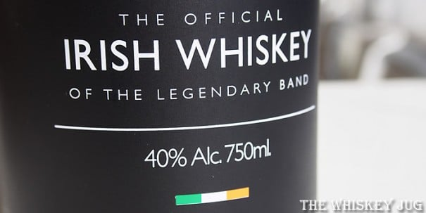 The Pogues Irish Whiskey Label