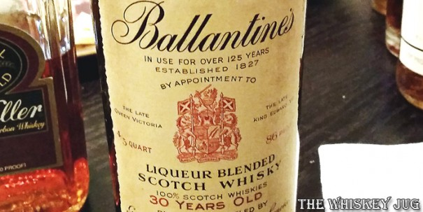 1950s Ballantine's 30 Years Label