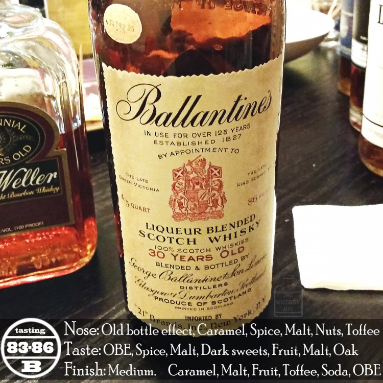 1950s Ballantine's 30 Years Review