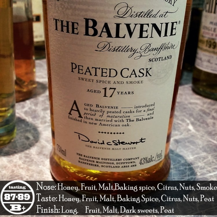 Balvenie Peated Cask 17 years Review