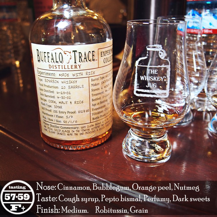 Buffalo Trace Experimental Collection Rice Review