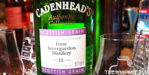 Cadenheads Invergordon 12 Years Label