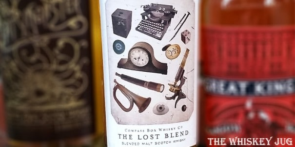 Compass Box Lost Blend Label