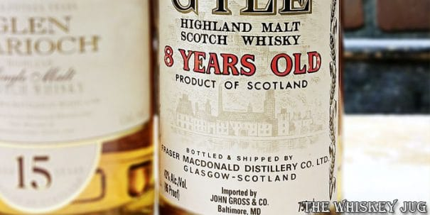 Glen Gyle 8 Years Label
