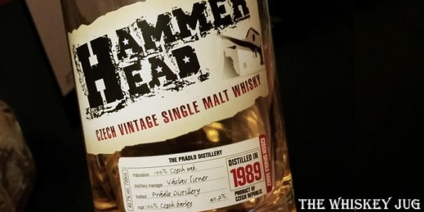 Hammer Head Whisky Label