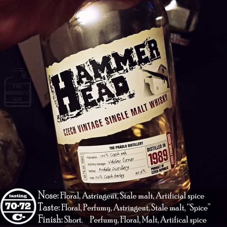 Hammer Head Whisky Review