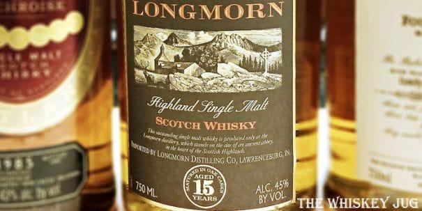 Longmorn 15 Label