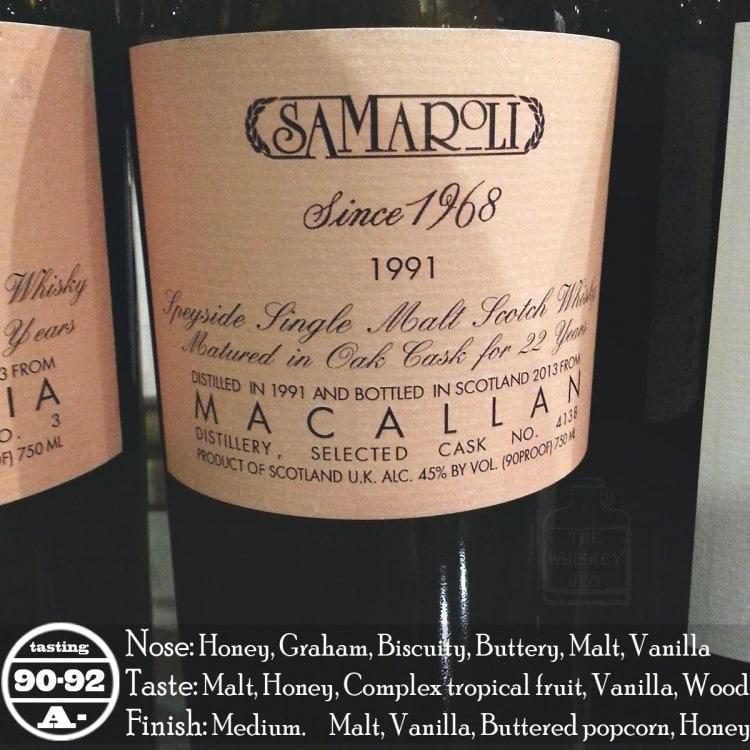 Samaroli Macallan 1991 Review
