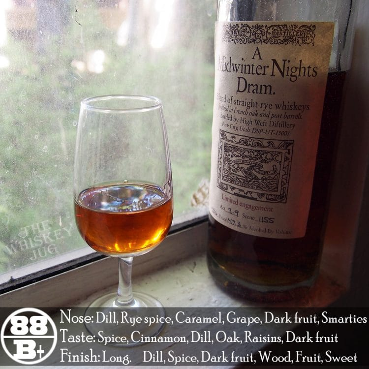 High West A Midwinter Night's Dram Review