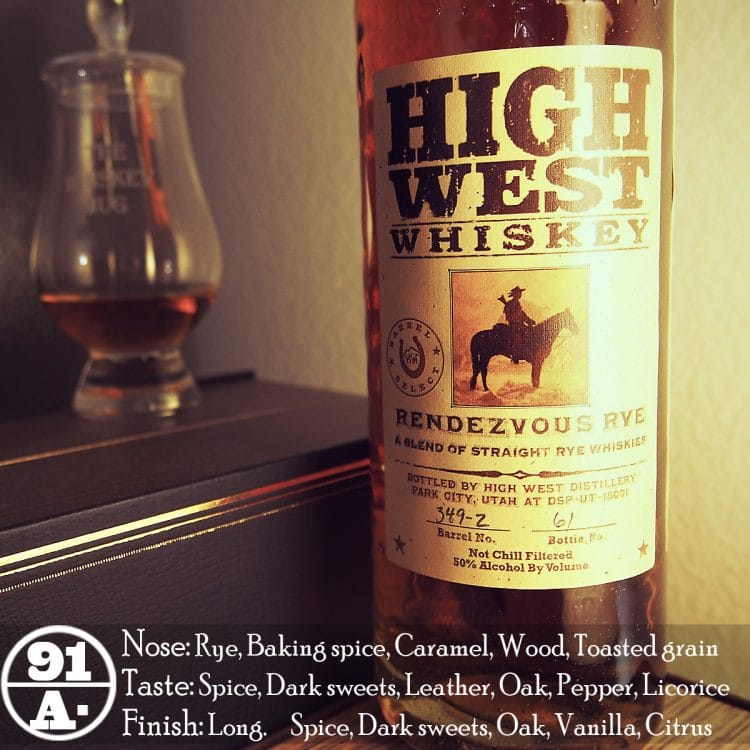 High West Rendezvous Barrel Select Review