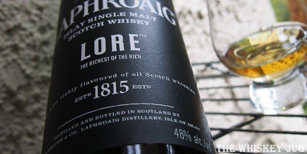 Laphroaig Lore Label