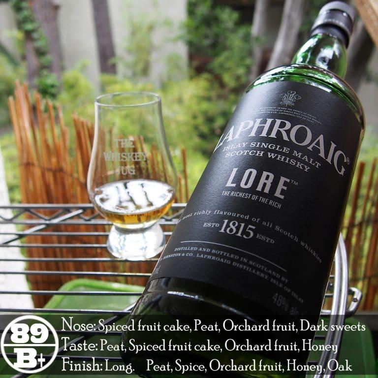 Laphroaig Lore Review The Whiskey Jug