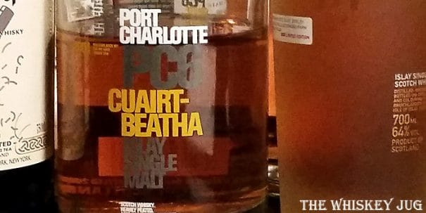 Bruichladdich Port Charlotte PC6 Label