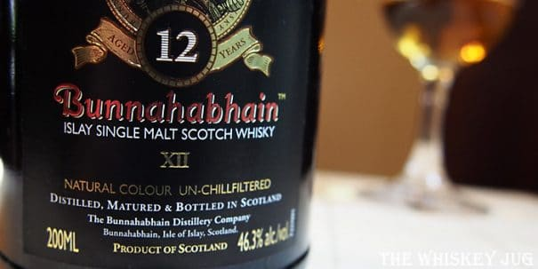 Bunnahabhain 12 Years Label