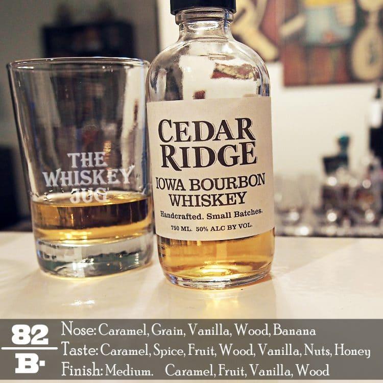 Cedar Ridge Iowa Bourbon Review