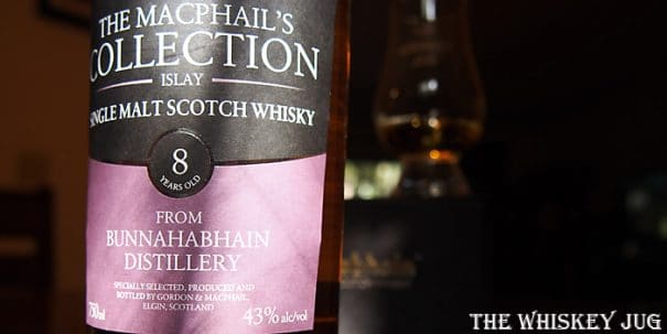 Gordon and Macphail Bunnahabhain 8 Years Label