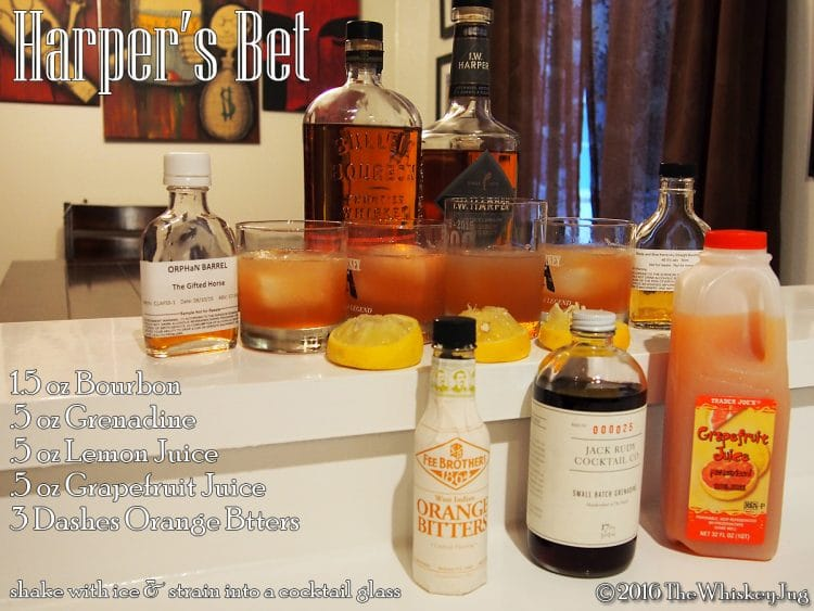 Harper's Bet Cocktail