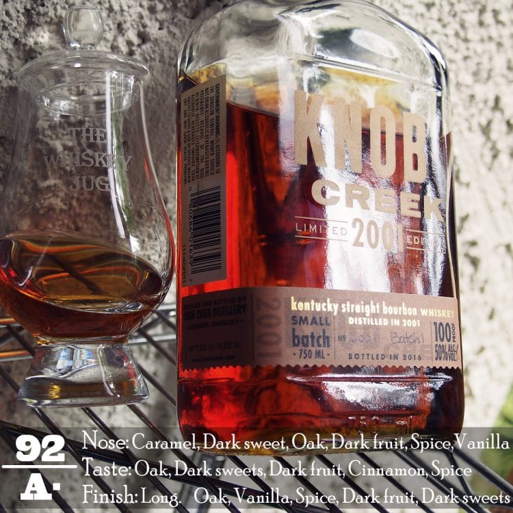 Knob Creek 2001 Limited Edition Review