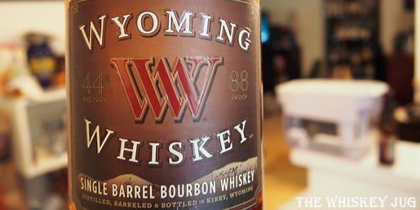Wyoming Whiskey Single Barrel Label
