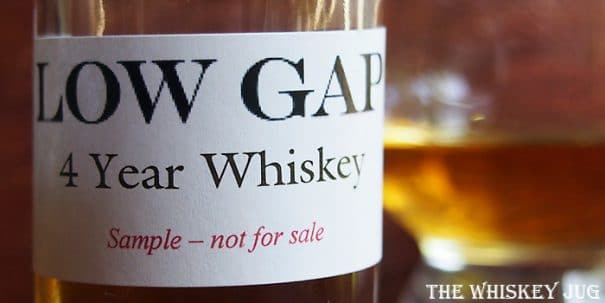Low Gap 4 Year Wheat Whiskey Label