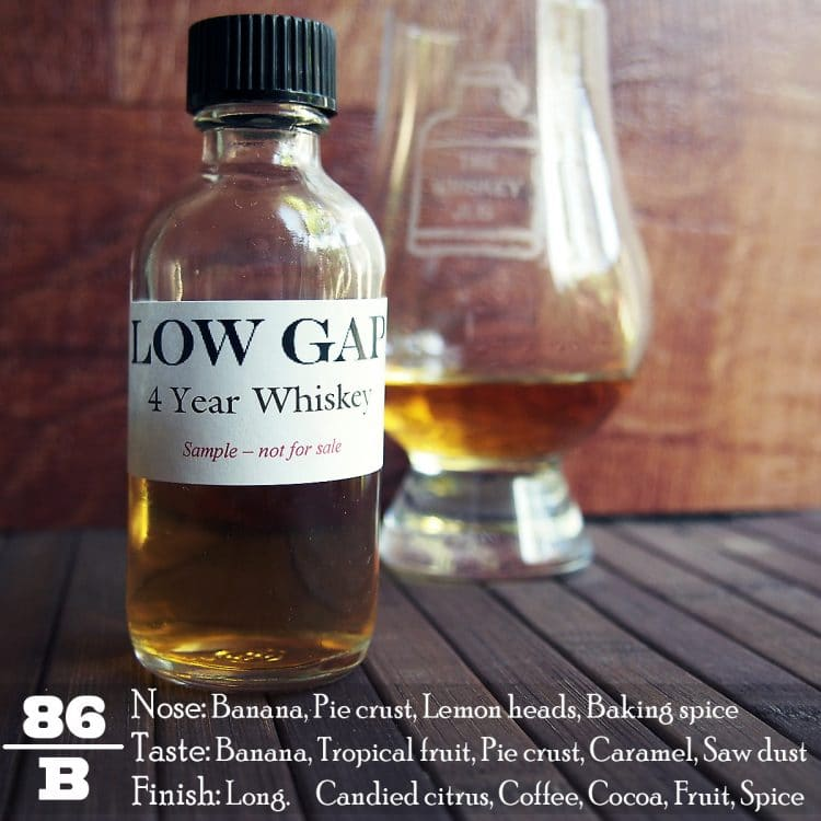 Low Gap 4 Year Wheat Whiskey Review