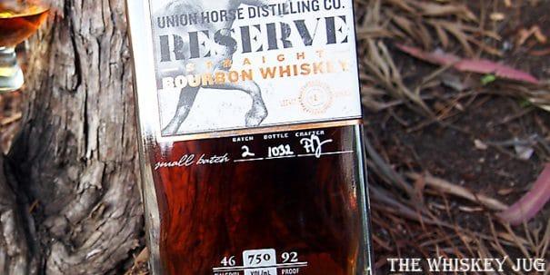 Union Horse Reserve Bourbon Label