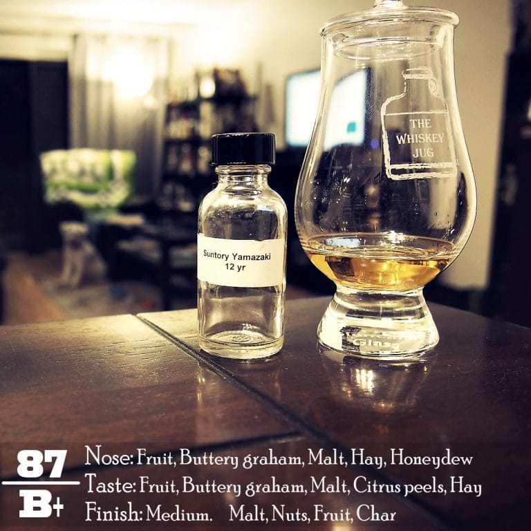 ae0dfaa34aff1b Yamazaki 12 Years Review - The Whiskey Jug