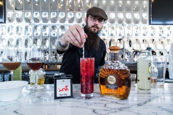 Berry Blast Iced Tea Cocktail