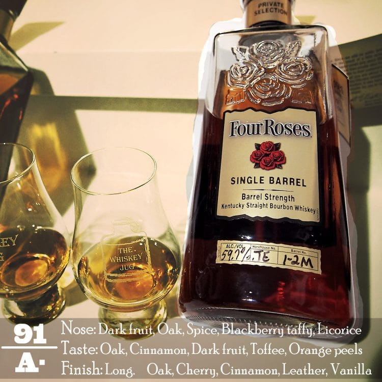 Four Roses Single Barrel JE 1-2M Review