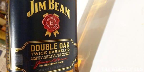 Jim Beam Double Oak Label