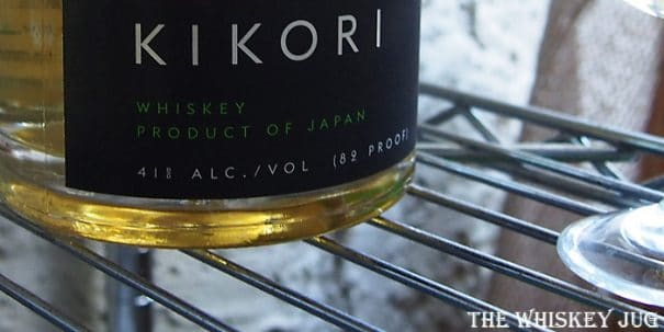 Kikori Rice Whiskey Label