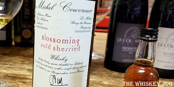Michel Couvreur Blossoming Auld Sherried Label